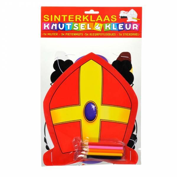 Sinterklaas Mijter Kleurset