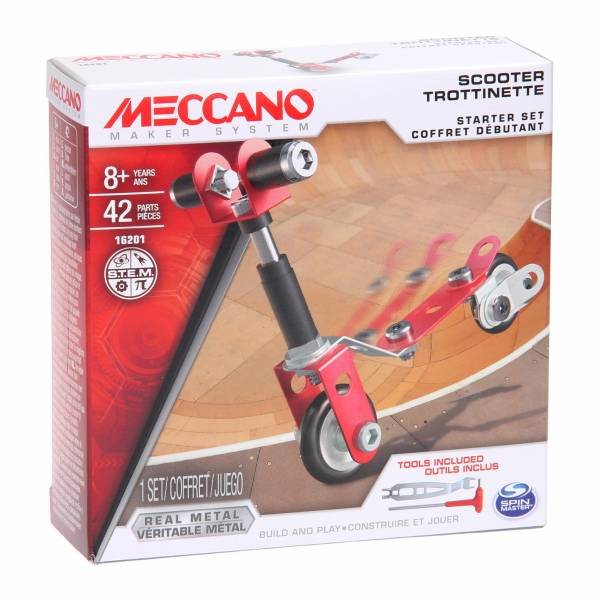 Meccano Beginner Set - Step