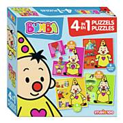 Bumba Puzzel, 4in1