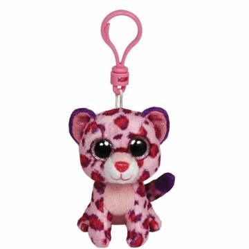 Ty Beanie Boo Sleutelhanger Luipaard - Glamour