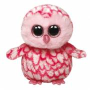 Ty Beanie Boo Knuffel Uil - Pinky