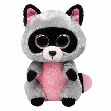 Ty Beanie Boo Knuffel Wasbeer - Rocco