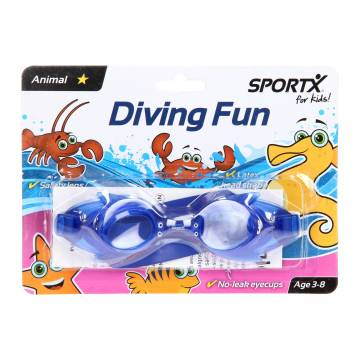 SportX Kids Zwembril Dier - Vis