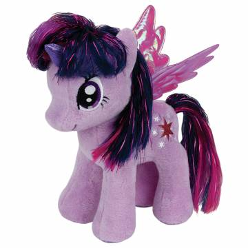 Ty Beanie Buddy My Little Pony Knuffel - Twilight Sparkle