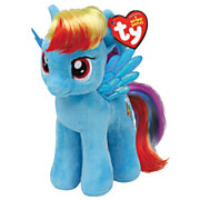 Ty Beanie Buddy My Little Pony Knuffel - Rainbow Dash