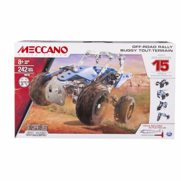 Meccano Multi 15in1 ATV, 242dlg.