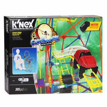 Knex Clock Work Achtbaan
