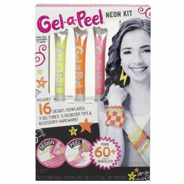Gel-a-Peel Speelset - Neon