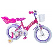 Disney Minnie Bow-Tique Fiets - 14 inch - Roze