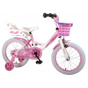 Volare Rose Fiets - 16 inch - Roze Wit