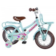 Volare Lovely Stars Fiets - 12 inch - Mint Blauw