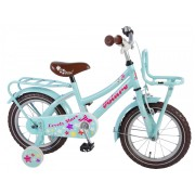 Volare Lovely Stars Fiets - 14 inch - Mint Blauw