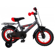 Volare Thombike Fiets - 12 inch - Grijs/Rood