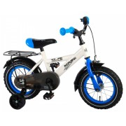 Volare Thombike Fiets - 12 inch - Wit/Blauw