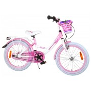 Volare Rose Fiets - 18 inch - Wit Roze
