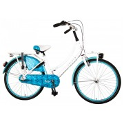 Volare Oma Dolce Fiets - 24 inch - Wit/Blauw - Shimano Nexus