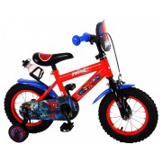 Ultimate Spider-Man Fiets - 12 inch - Blauw/Rood