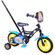 Paw Patrol Mighty Pups Fiets - 10 inch - Blauw
