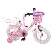 Volare Rose Fiets - 12 inch - Roze