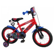 Ultimate Spider-Man Fiets - 14 inch - Rood Blauw