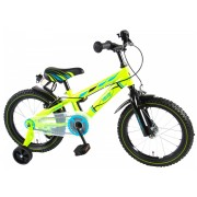 Volare Electric Green Fiets - 16 inch - Groen - 2 handremmen