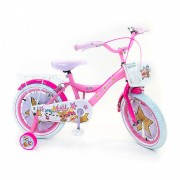 LOL Surprise Fiets - 16 inch - Roze - 2 handremmen