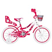 Volare Lovely Fiets - 12 inch - Rood Wit