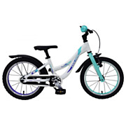Volare Glamour Fiets - 16 inch - Parelmoer Mint Groen
