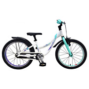 Volare Glamour Fiets - 18 inch - Parelmoer Mint Groen