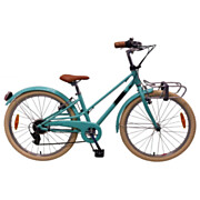 Volare Melody Fiets - 24 inch - Turquoise - 6 speed
