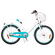 Volare Oma Dolce Fiets - 20 inch - Wit/Blauw