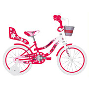 Volare Lovely Fiets - 16 inch - Rood Wit