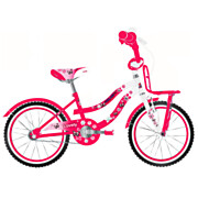 Volare Lovely Fiets - 20 inch - Rood Wit