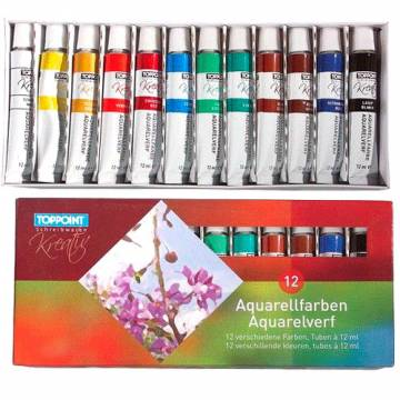 Aquarelverf 12x12ml