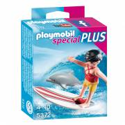 Playmobil 5372 Surfer Dolfijn