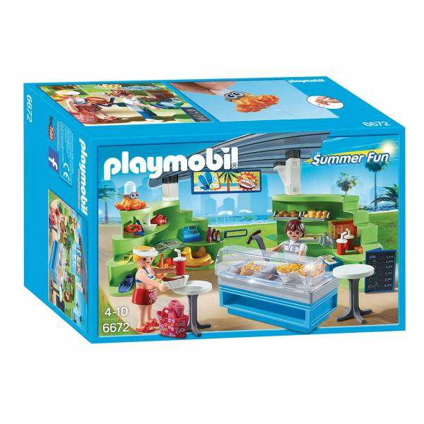 Playmobil 6672 Winkel Snackbar