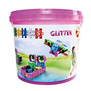 Clics Build & Play Glitter Emmer, 8in1