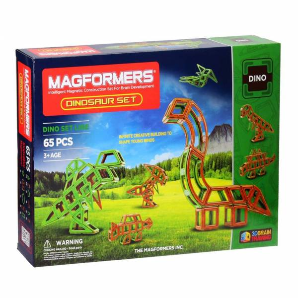 Magformers Dino, 65dlg.