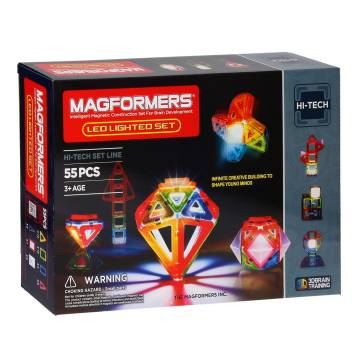 Magformers LED Set, 55dlg.