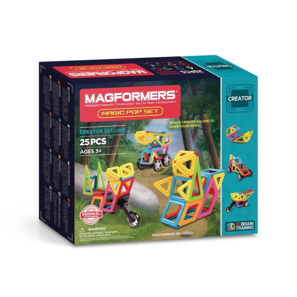 Magformers Magic Pop Set, 25dlg.