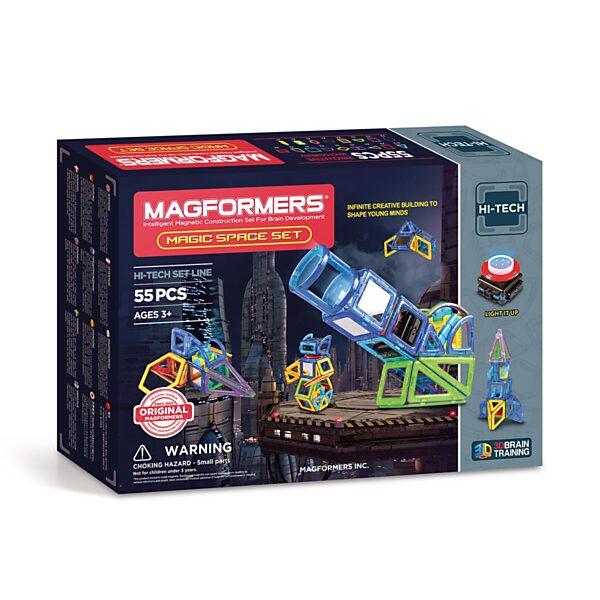 Magformers Magic Space Set, 55dlg.