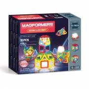Magformers Neon LED Set, 31dlg.