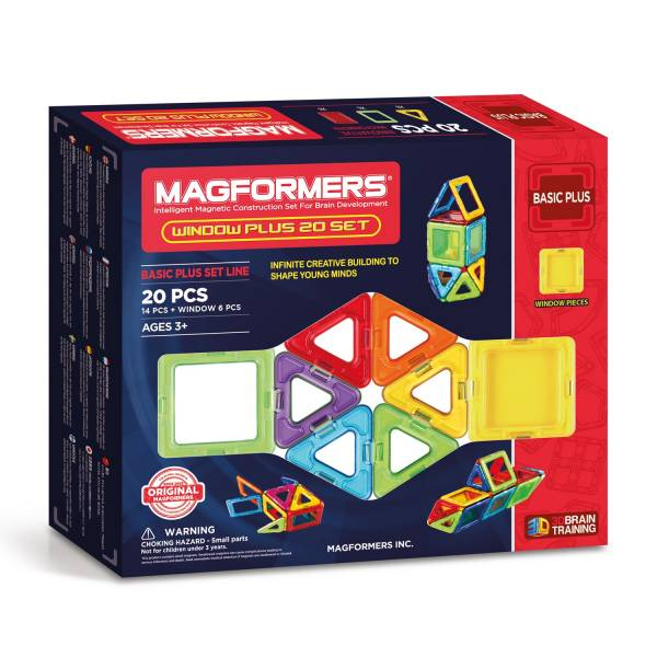 Magformers Window Plus Set, 20dlg.