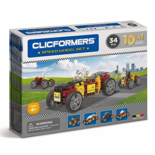 Clicformers - Racewagen Set