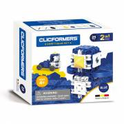 Clicformers Craft Set Blauw, 25dlg.