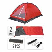 Campingset, 5dlg. - Rood