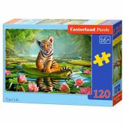 Puzzel Tijger in Jungle, 120st.