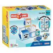 Geomag MagiCube - Polar Animals, 8dlg.