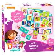 Dora Lotto,Domino,Memo - 3in1