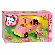 Hello Kitty Unico Miniset Auto